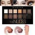 Nudes Earth Naked Makeup Eyeshadow Palette 12 Colors Brighten Smoky Eye Shadow Shimmer Matte Professional Mineral Waterproof