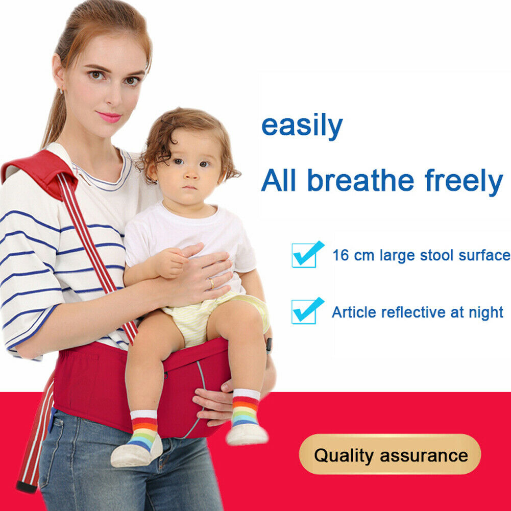 New Infant Baby Bag Waist Stool Baby Backpacks Solid Strap Belt Child Baby Carrier Strap Hip Seat 0-12M
