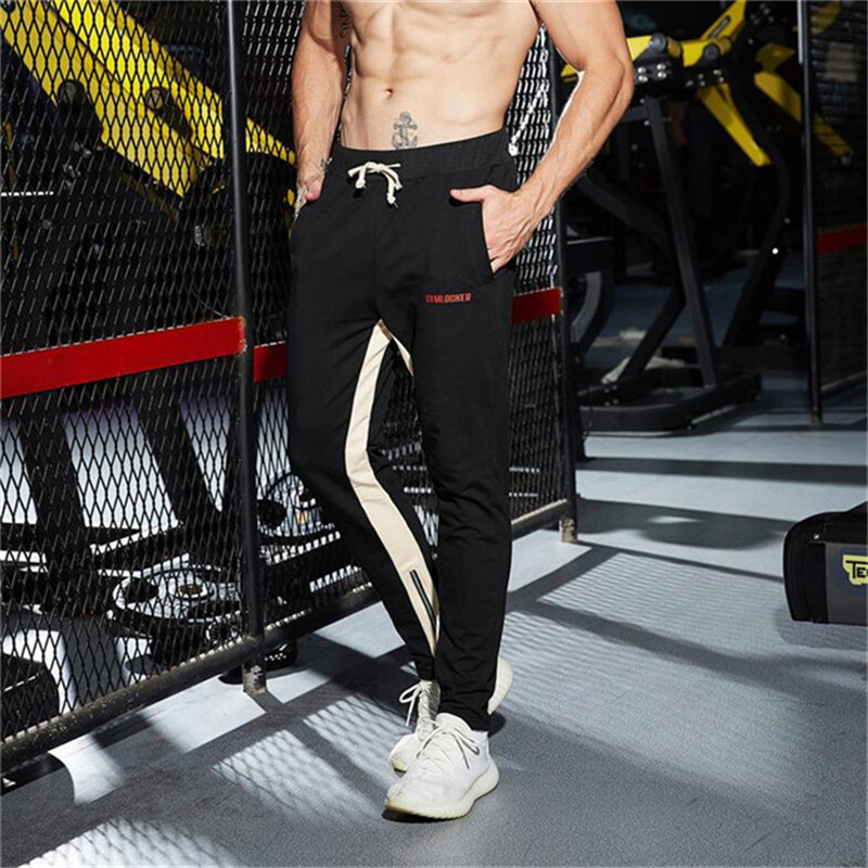 2018 high quality jogger pants men's fitness sweatpants runners athlete brand men's clothing autumn sporter pants men's trousers