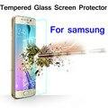 Ultra fina limpar vidro temperado filme protetor de tela para galaxy s3 s4 s5 mini s6 borda nota 2 nota 3 nota 4 a3 a5 a7