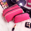 Korean Organizer Toiletry bag Portable Multifunction Pouch Case Waterproof Travel Cosmetic Bag Simple Makeup Toiletry Case Set