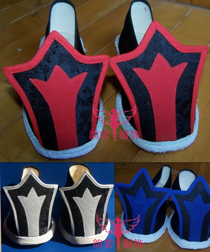 5 designs Male Hanfu Shoes Traditional Chinese Warp Shoes Cosplay Photography Stage Performance Shoes for men