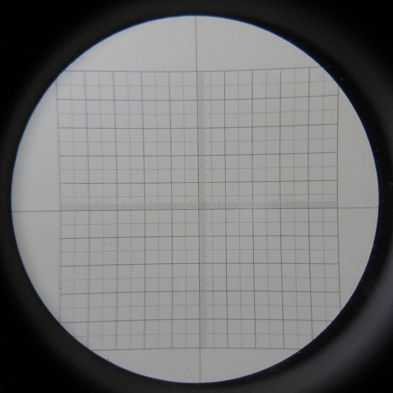 Mikroskoobi okulaari läätse mikromeetri kalibreerimisklapp - Mõõtevahendid - Foto 1