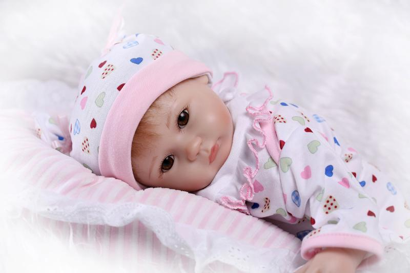 NPK 42 cm réaliste reborn poupées bébé silicone reborn bébé fille poupées bébé réel vivant jouets pour filles bebe cadeau reborn bonecas jouet