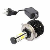1 Pair X6 Car Headlight H4 H7 9005 9006 Super Bright Waterproof LED Lamp Aluminum Alloy