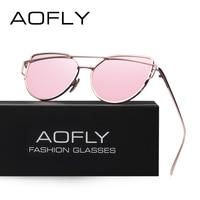 AOFLY Fashion Sunglasses Women Popular Brand Design Polarized Sunglasses Summer HD Polaroid Lens Sun Glasses With
