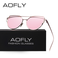 AOFLY Mode Sonnenbrille Frauen Beliebte Marke Design Polarisierte Sonnenbrille Sommer HD Polaroid Objektiv Sonnenbrille AF2285-in Sonnenbrillen aus Kleidungaccessoires bei