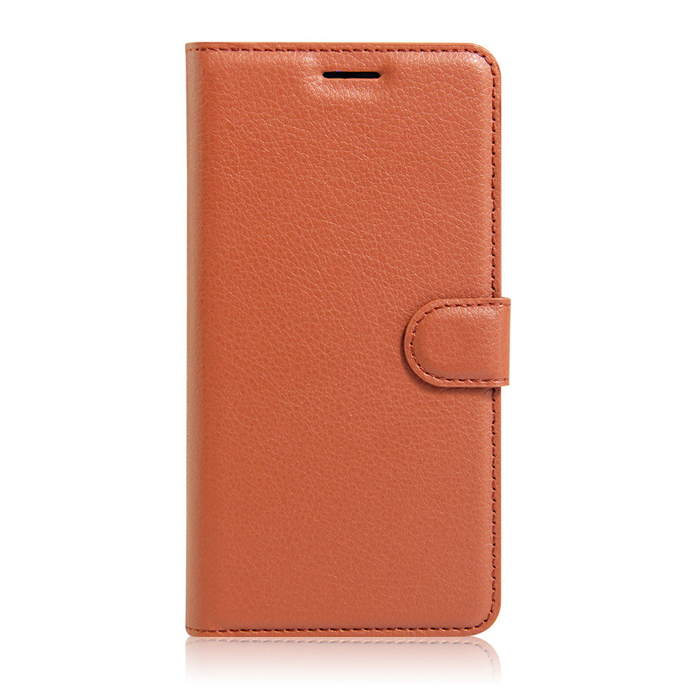 KIP7P1146_2_Litchi Texture Leather Case with Card Slots & Stand for iPhone 7 Plus
