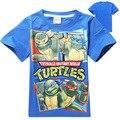 Chicos adolescentes camiseta fresca de verano de manga corta remata camisetas bebé de la historieta embroma la camiseta niño ropa de los niños