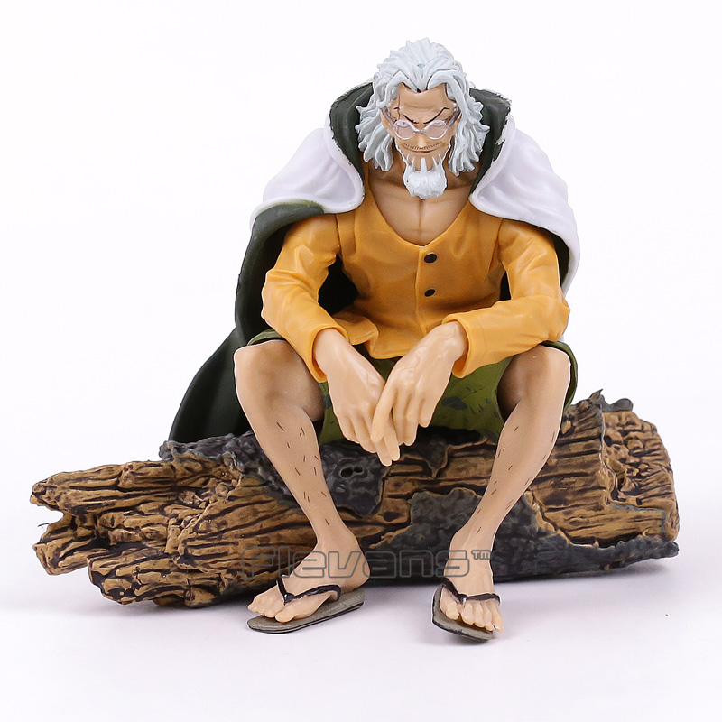 Anime One Piece Silvers Rayleigh Creator Sit Ver. CREATOR X CREATOR 14cm PVC Action Figure Collection Model Kids Toy Doll overbearing arrogance law anime one piece pvc action figure classic collection model garage kit doll toy
