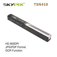 Skypix tsn410 hd 900 dpi a4サイズのドキュメントスキャナ紙ファイルスキャナa4/a5 jpeg/pdf usb色a4スキャナcis ocrスキャナ