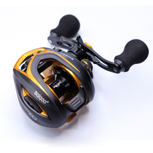 Lawaia Baitcasting Reel Saltwater Carbon 14+1BB Magnetic and Centrifugal Brake Dual High Speed 220g