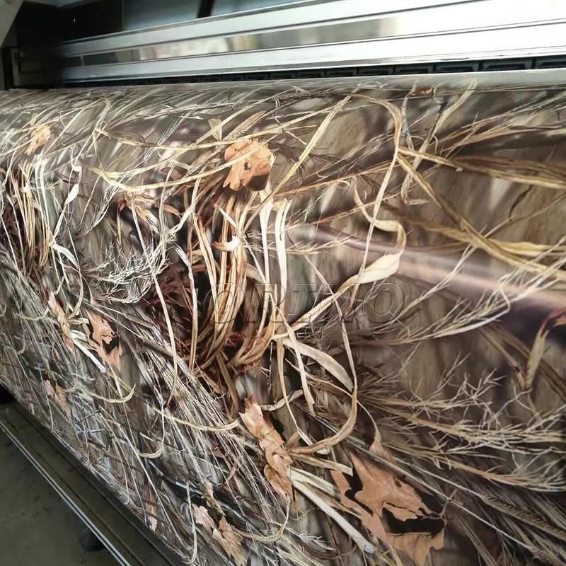 Sombra Grama Realtree Camuflagem Vinyl Film Enrole Com Bolha de Ar Livre Adesivo de Carro Styling Motorbike Decal Adesivo de Carro Wrapping - 2