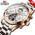 HAIQIN, роскошные Брендовые мужские часы, автоматические механические часы, Классические деловые часы, мужские спортивные водонепроницаемые ...