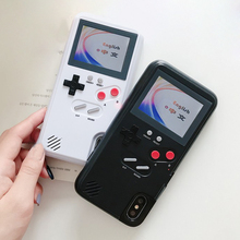 Color Display 36 Classic Game Phone Case For iPhone 6 S 7 8 Plus Console boy Soft TPU Silicone Cover X XS Max XR