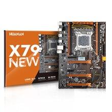HUANANZHI X79 motherboard LGA 2011 ATX USB 3,0 SATA3 PCI E NVME M.2 unterstützung 4*16G REG ECC speicher und Xeon E5 prozessor