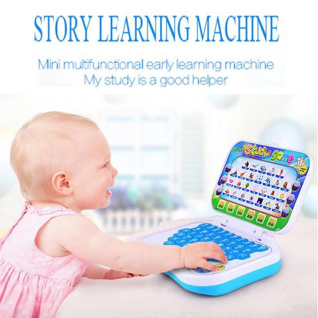 Многофункциональный Машинного обучения Английский Раннее Планшетный Компьютер Игрушки Kid Educational Toys for children learning Чтение машина