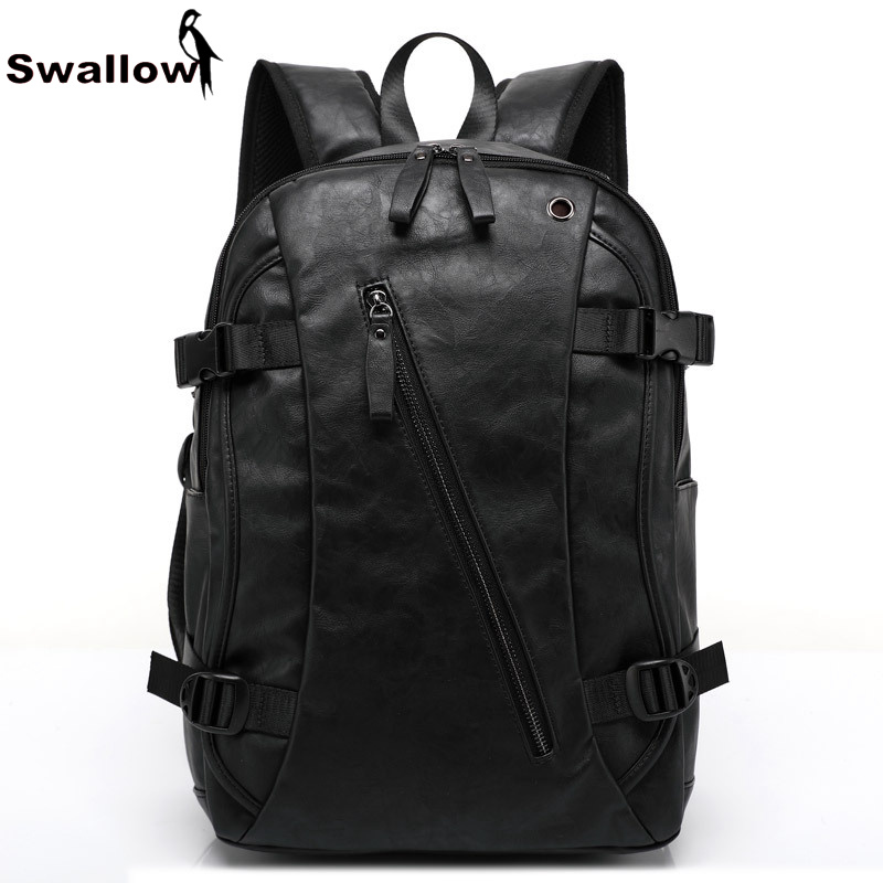 Fashion Design PU Leather School Bag For Teenagers Large Capacity High Quality University Student Bag Backpack Laptop For Travel large capacity kids school backpack for primary student school bag girls and boys waterproof backpack high quality travel bag