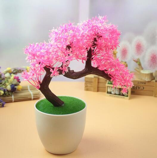 Decoraci n plantas en maceta simulaci n artificial flores sal n decoraci n de la ventana flores - Plantas secas decoracion ...