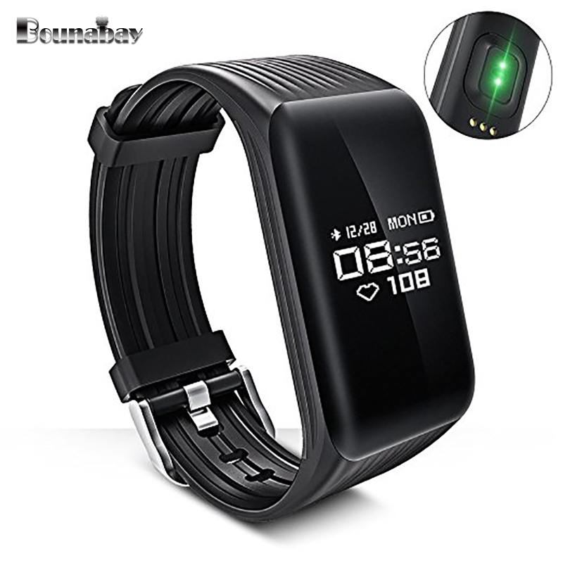 BOUNABAY Smart Bluetooth watch for men original man sports waterproof watches men's clocks apple android ios phone man's clock latest hi watch 2 bluetooth smart watch phone watch gps positioning micro letter generations for apple android ios phone