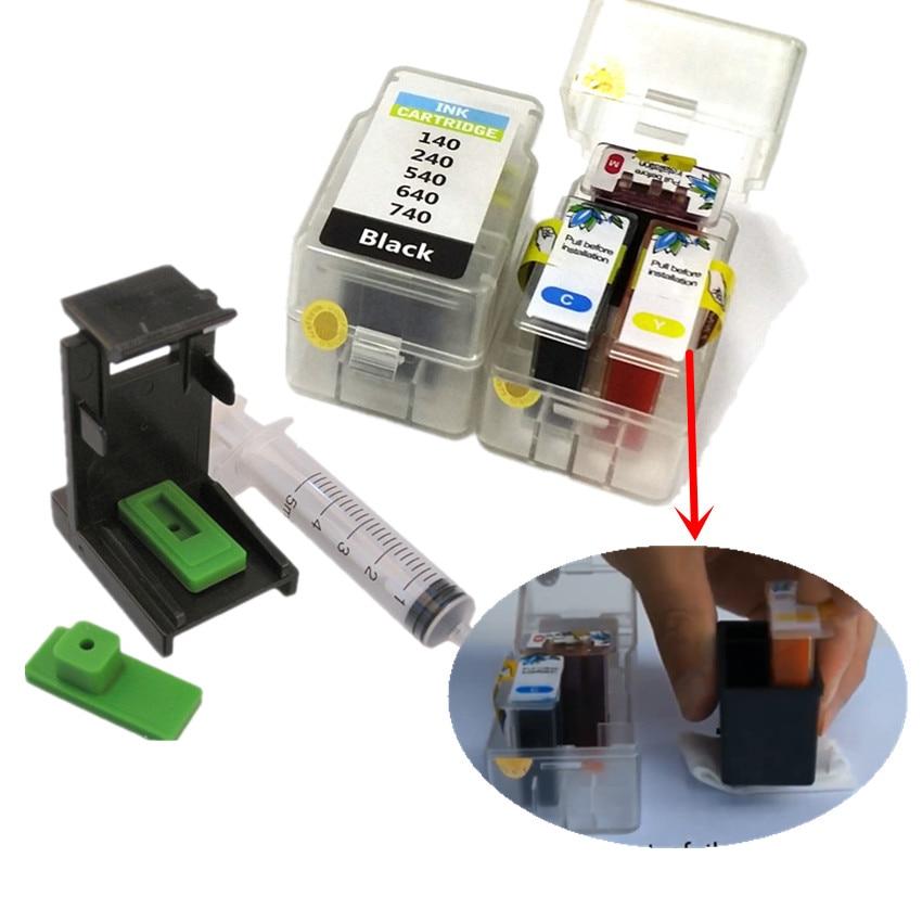 DIY Smart Cartridge Refill Kit For Canon PG 440 Cl 441 Ink Cartridge For Canon MG2140 MG2240 MG3140 MG3240 MG3540 MG3640 MG4140