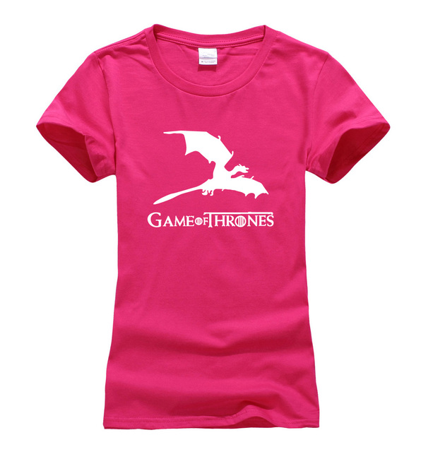Game of Thrones Khaleesi Dragon Summer Casual Fashion Women's T-shirt