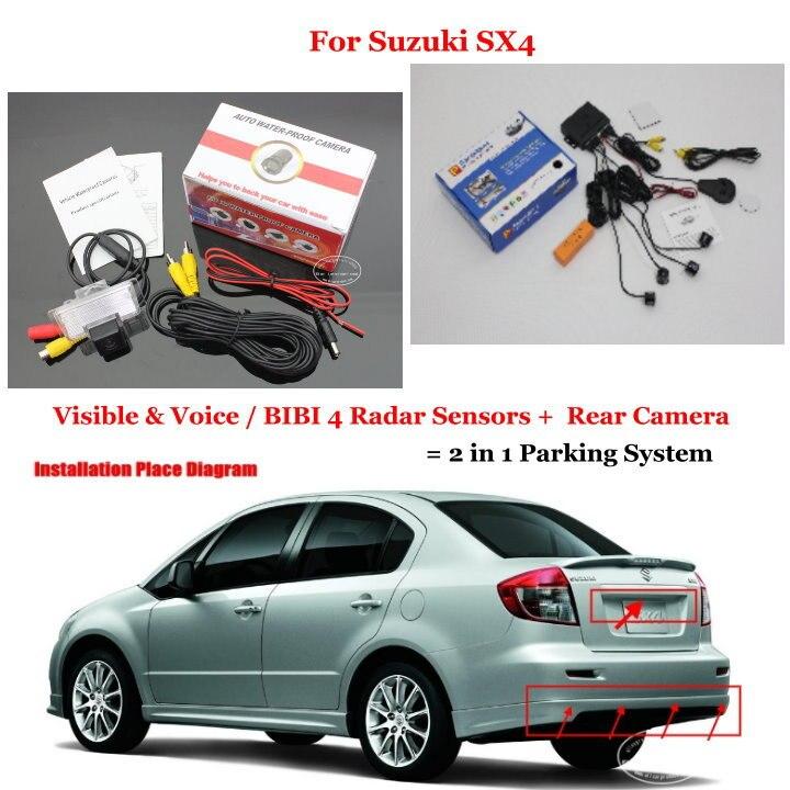 Neo Baleno: Liislee For Suzuki SX4 SX 4 SX 4 / Neo Baleno Car Parking