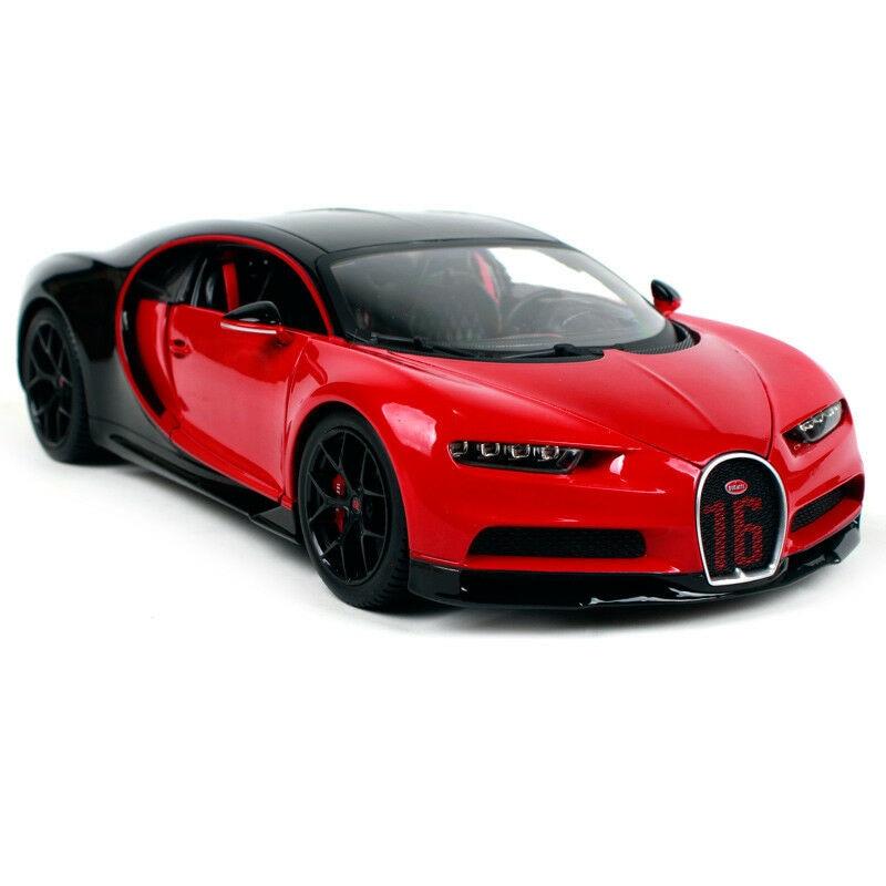 Bburago 1:18 Bugatti Chiron Sport Red NO.16 Diecast Model Racing Car New in  Box|Diecasts & Toy Vehicles| - AliExpress