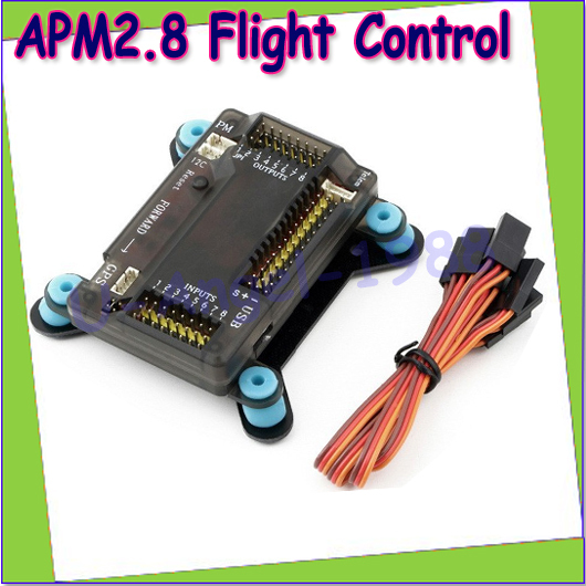 ФОТО APM 2.8 Flight Controller w/ Case and Shock Absorber Conjoined for Multicopter Dropship