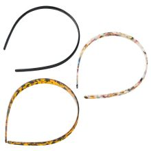 3 Pcs/set Acetate Headband Sexy Leopard Lady Women Hair Accessories Fashion Simple Girls Headwear Headdress