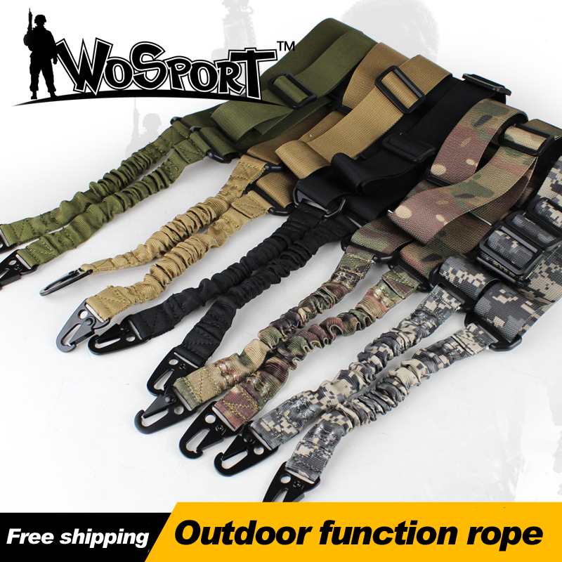 Outdoor Rope Sling Rope Lanyard Task SLR Gun Tactical Standard Dual Function Rope Honorable Person CS