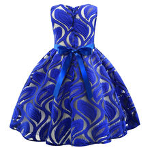 Kids Baby Girls Embroidered Flower Dresses Clothing