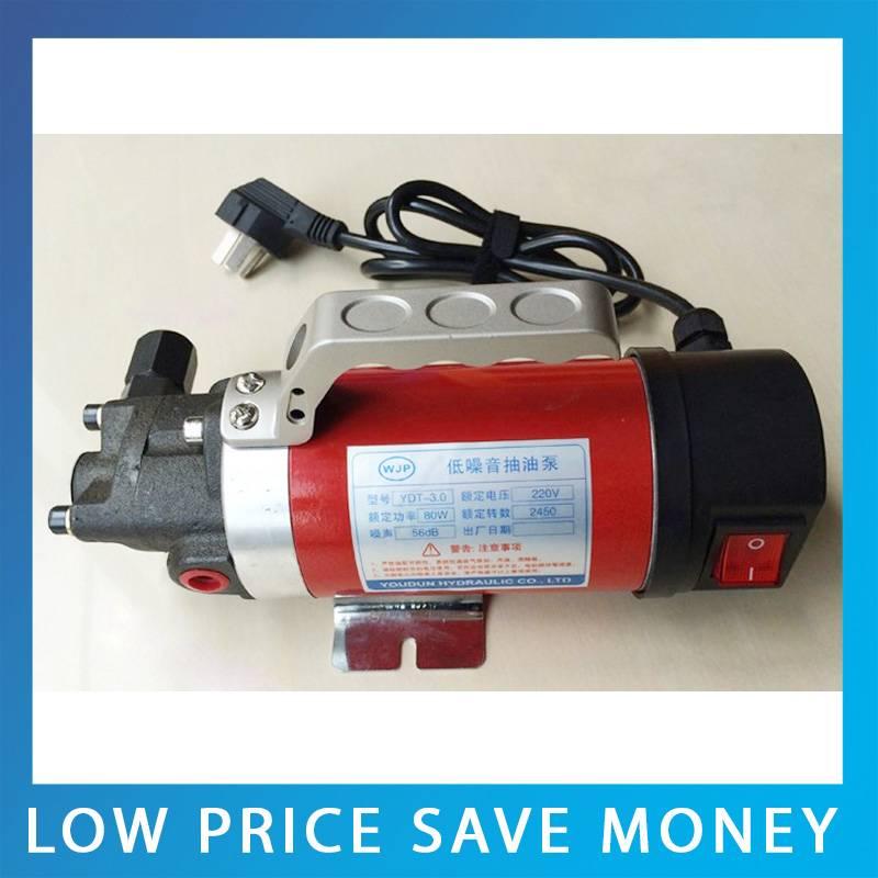 Cast Iron Fuel Oil Pump Mini 24V DC Pump 2.5L/min Gear Oil Pump YD-1.4 high quality 8l min 24v dc 80w food grade pump dc