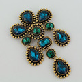 Women Brooch High quality 3 color Crystal glass Brooches pins wedding jewelry badges with pin summer style fashion Brooches