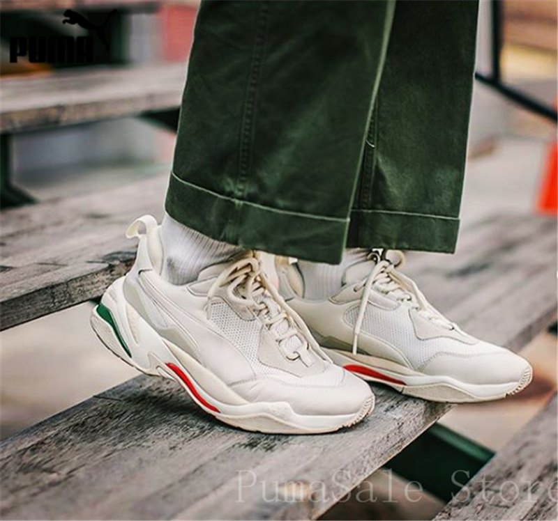 online retailer 04c4a 54acc PUMA Mens Thunder Desert Sneakers Men Women Sports Shoes 367516-12  Badminton Shoes Thunder Spectra