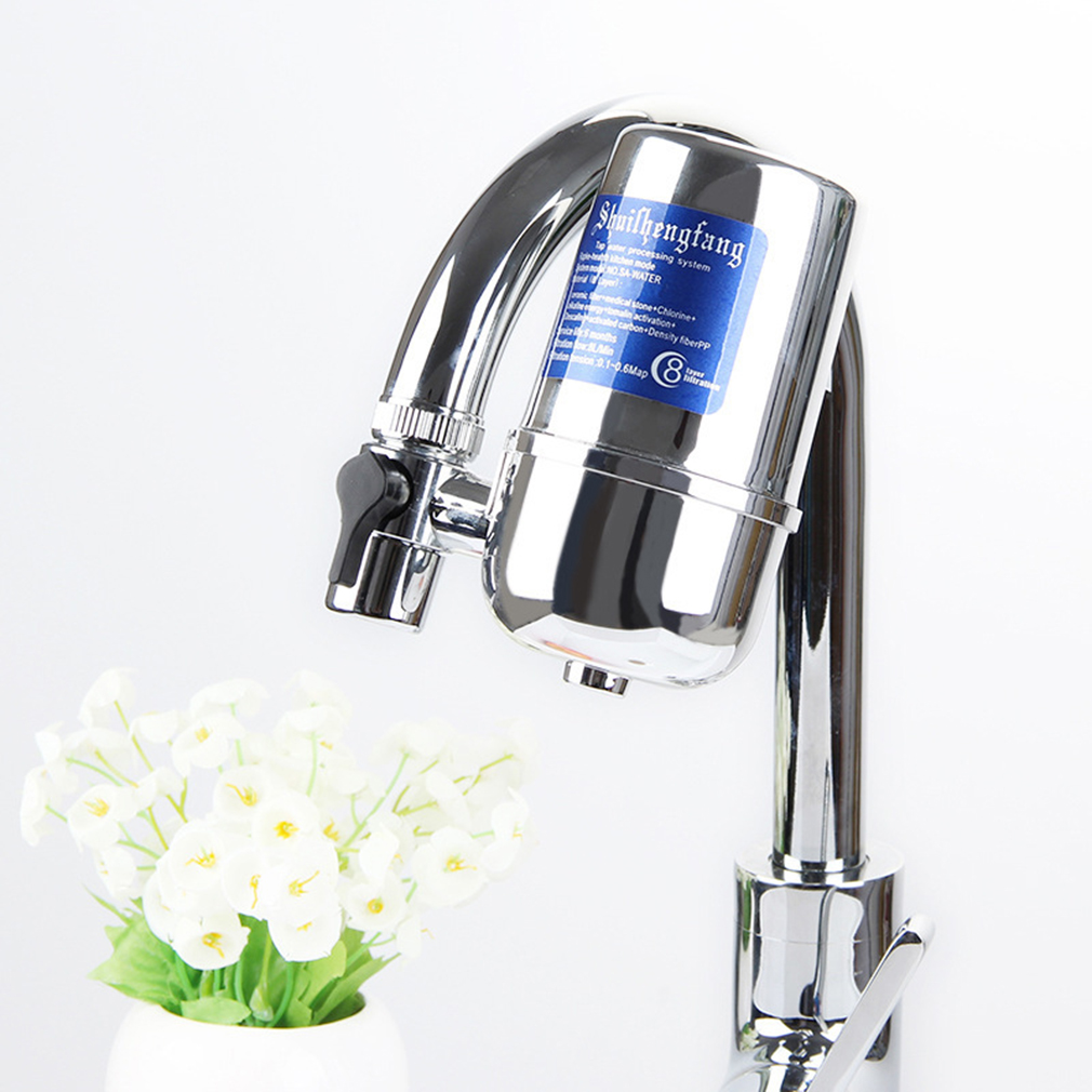 Water Filter Purifiers For Household Kitchen Health Tap Hi-Tech Nano Ceramic Filter Prefiltration Accessories Household Drinking