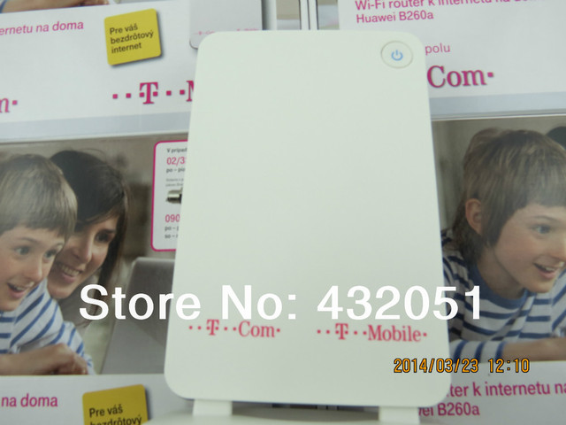 Huawei b260a 3g gateway roteador sem fio portátil