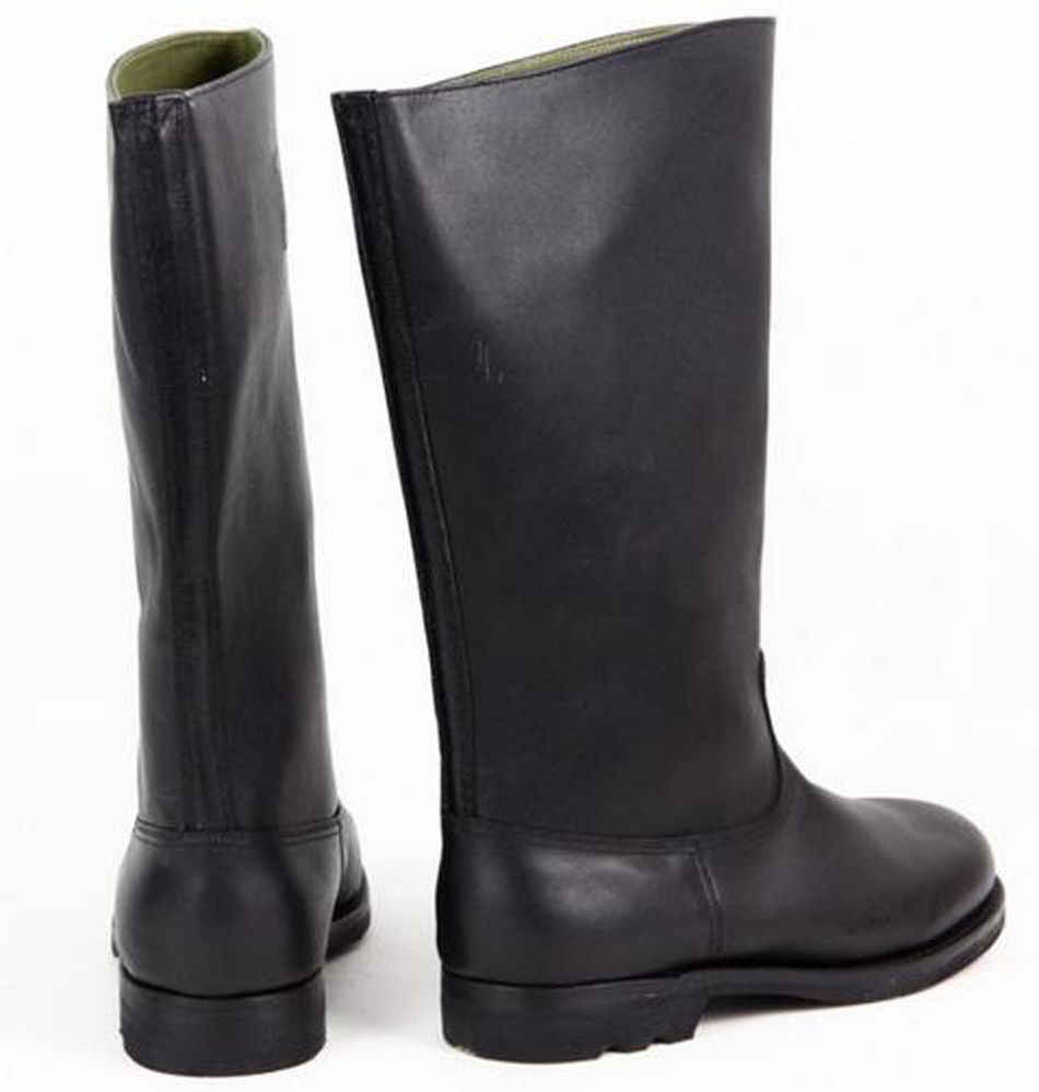 New Fashion Military WWII German EM Leather Combat Officer Boot Riding Boots