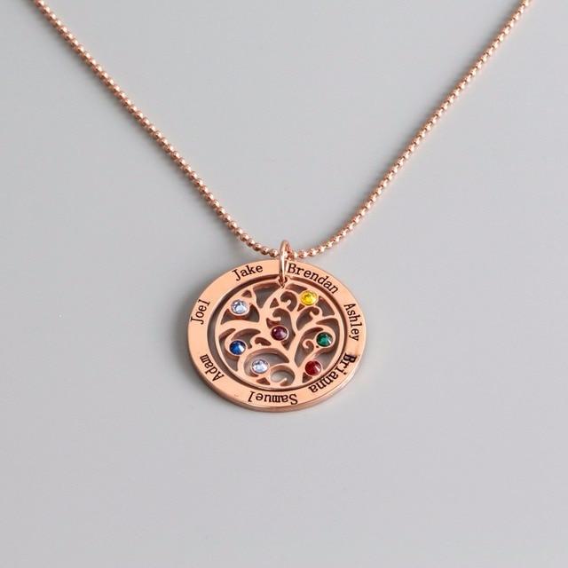 Personalizzato Su Misura 925 Gioielli In Argento Sterling Collana