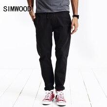 Simwood бренд 2017 на осень-зиму повседневные Штаны Мужчины брюк хлопковые модные Треники KX5517