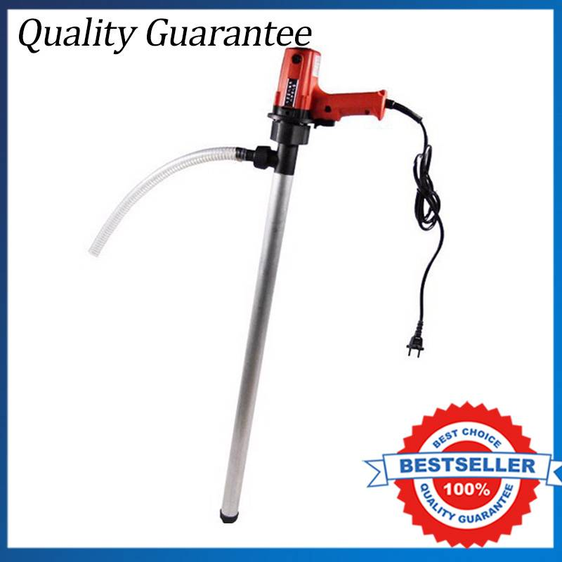 New Portable Hand Oil Barrel Pump 220V/720W Vertical Screw Pump For 300CPS Only