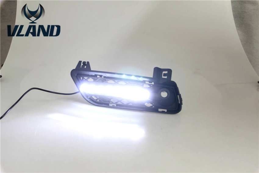 Free shipping vland factory for BMWS X3 F25 2011 2012Car LED DRL Daytime Running Lights plug and play design free shipping vland factory car parts for camry led taillight 2006 2007 2008 2011 plug and play car led taill lights