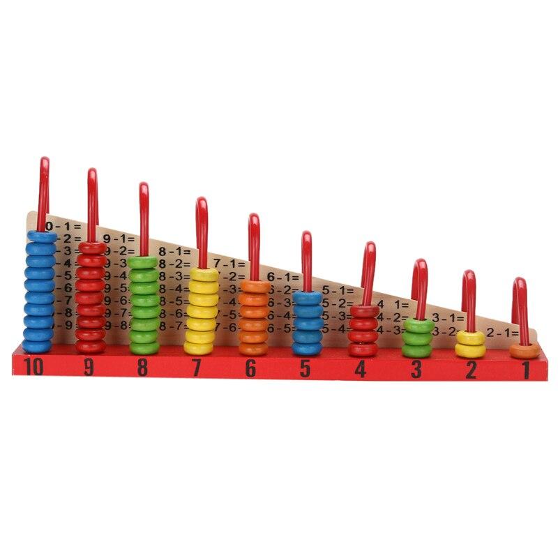 Kinder Holzspielzeug Kind Abacus Counting Perlen Mathematik Lernen Pädagogisches Spielzeug Math Spielzeug Geschenk
