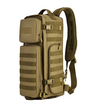 Men Waterproof Nylon camo Sling Chest Bag Military CrossBody Messenger Shoulder Back pack Black handbags Fashion Male Chest Bags