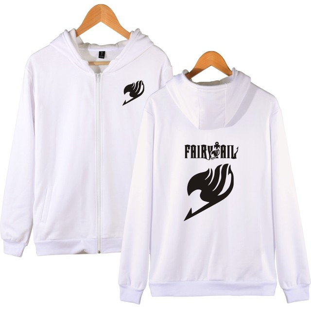 Fairy Tail Hooded Sweatshirts Men Zipper Hoodie