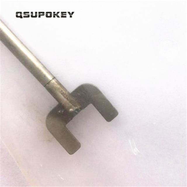 QSUPOKEY, recién llegado, cerradura de puerta de vidrio, herramientas de reparación de desbloqueo/Pulgar, herramienta de giro por paso, envío gratis