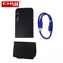 New Portable 2.5″ External Storage USB Hard Drive Disk HDD Carry Case Cover with USB 3.0 Cable Pouch for Hard Drive