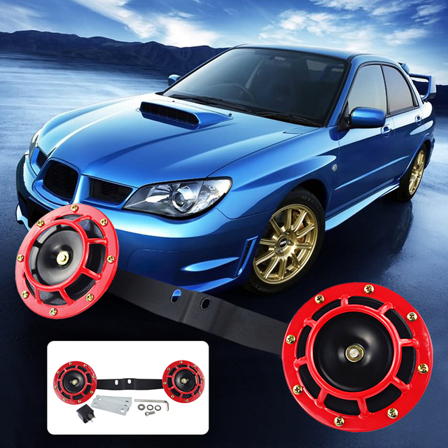 Loud Car Horn >> New 1pair Car Horn 12v Bracket Dual Hella Supertone Auto Horns