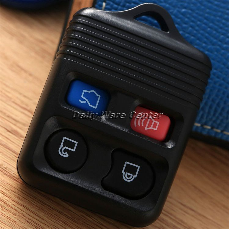 Car Key Replacement >> Car Replacement 4Buttons Keyless Entry Remote Fob Transmitter Clicker Beeper Alarm Car Case ...