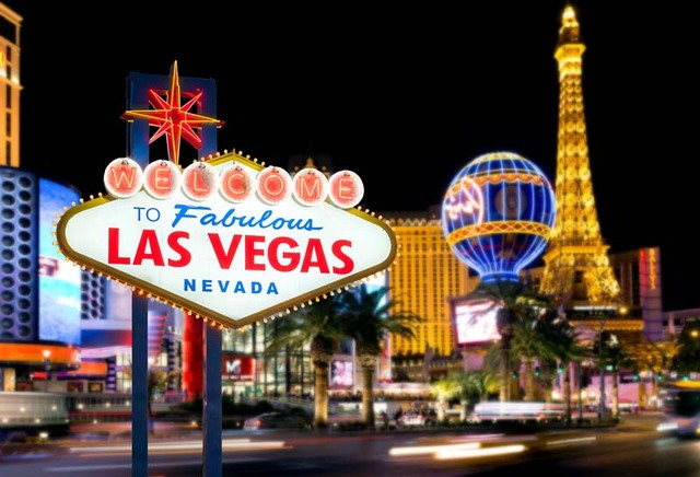 Vinyl Photography Background Night City Welcome To Las